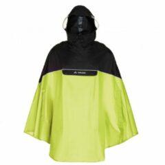 Groene Vaude - Covero Poncho II - Fietsjack maat XXL groen/zwart