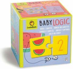 Ludattica Puzzels: CIJFERS - Baby Logic 12x12x12cm, 10 2-delige puzzels, 3+