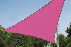Velleman Schaduwdoek - Zonnezeil - Driehoek 5 X 5 X 5 M, Kleur: Fuchsia