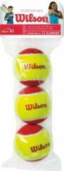 Wilson Tennisballen - geel/rood