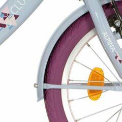 Paarse Alpina spatbord set 26 Clubb lavender