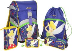 Sammies by Samsonite Ergonomic Schulranzen-Set 5-tlg Disney Tinkerbell Sammies by Samsonite 01 tinkerbells pixie home