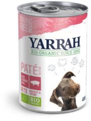 Yarrah Paté Varken - Hond - Graanvrij - Volledig natvoer - 12 x 400 gr