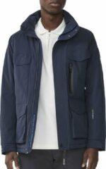 Marineblauwe Tenson Nyle Pro Stretch - Outdoorjas - Heren - Marine Blauw - Maat XL