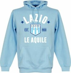 Merkloos / Sans marque Lazio Roma Established Hooded Sweater - Lichtblauw - M