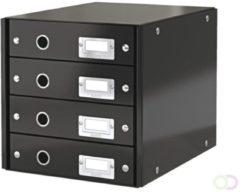 Leitz Click & Store 6049-00-95 Ladebox Zwart DIN A4 Aantal lades: 4