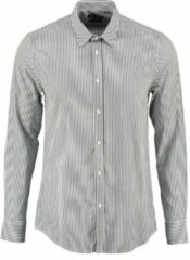 Antony morato blauw gestreept slim fit overhemd - Maat XXL