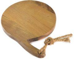 Bruine Twentshout Twents Hout - Food Safe - Pizzaplank - Ø 30 cm