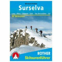 Bergverlag Rother - Surselva Laax - Flims - Skitourgidsen 2. Auflage 2016