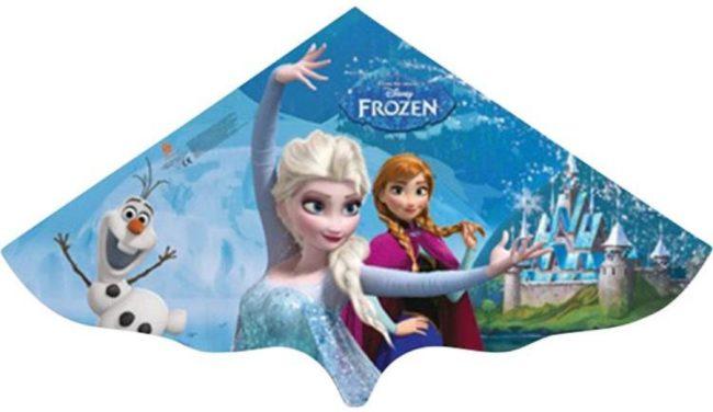 Afbeelding van Günther Flugspiele Disney Frozen Elsa Eenlijns Vlieger Spanwijdte 1150 mm Geschikt voor windsterkte 3 - 5 bft