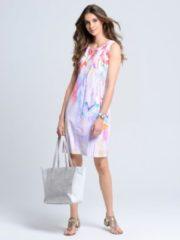 Rosa Sommerkleid Alba Moda Weiß/Blau/Pink
