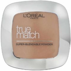 Zandkleurige L'Oréal Paris L'Oréal Paris True Match Foundation - W5 Golden Sand - Poeder