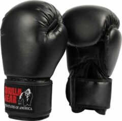 Gorilla Wear Mosby Bokshandschoenen - Zwart - 12 oz