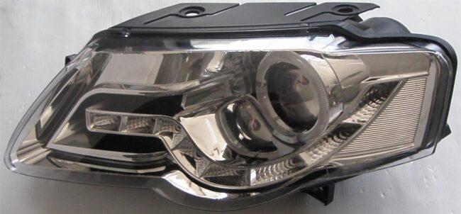 Afbeelding van AutoStyle Set Koplampen DRL-Look passend voor Volkswagen Passat 3C 2005-2010 - Chroom
