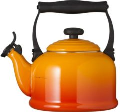 Oranje Le Creuset Traditional Kettle with Whistle - Volcanic