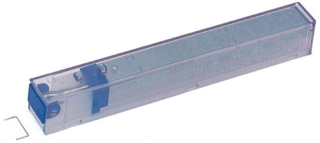 Afbeelding van Pak 5 x 210 navullingen for nietjesmachine Leitz met cartridge kleur blauw capaciteit 25 vellen