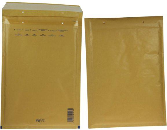 Afbeelding van Bruine VLOOKUP(C114,[1]!Table1[#Data],7,FALSE) Luchtkussenenveloppen formaat 230 x 340 mm met stripsluiting bruin doos van 100 stuks
