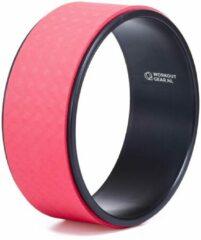 Workout Gear ® Workout Gear - Yoga Wiel - Pilates Wiel - Rood/Zwart