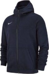 Marineblauwe Nike Team Club Sportvest - Maat 152 - Unisex - navy/wit Maat L-152/158