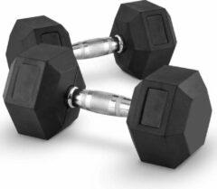 Zwarte MD Sport Dumbbellset 10KG | Set van 2 stuks