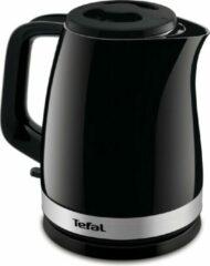 Zwarte Tefal Tefa Wasserkocher KO 150 F bk/sr   Delfini Plus