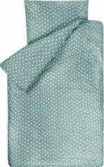 Groene BINK Bedding Dekbedovertrek Stars Olijf 1-persoons 140x200/220 cm (incl 1 kussensloop 60x70 cm)