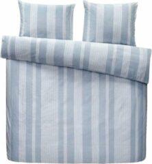 Blauwe Homéé® Dekbedovertreksets Chambray - tweepersoons 200x200/220 cm +2 slopen - 100% percale Katoen