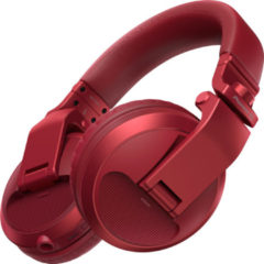 Pioneer DJ HDJ-X5BT Bluetooth DJ Koptelefoon Over Ear Vouwbaar, Headset Rood