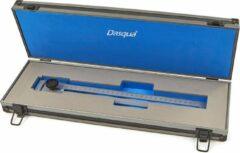 Blauwe Dasqua Professionele 300 mm Afkrasliniaal