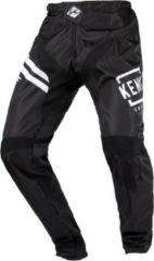 Zwarte Kenny Kids Elite BMX Pants white black BMX- en Crossbroek - Maat: 20