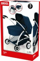 Ravensburger BRIO Poppenwagen Spin blauw - 24901000