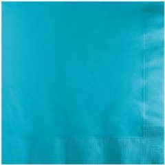 Blauwe Creative Converting Servetten bermuda blue (33x33cm, 20st)