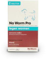 No Worm Pro Puppy - Anti wormenmiddel - 2 tab Vanaf 0.5 Kg Vanaf 2 Weken