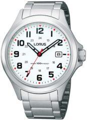 Roze Lorus RXH03IX9 horloge heren - zilver - edelstaal