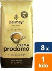 Dallmayr - Crema Prodomo Bonen - 8x 1 kg