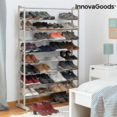 Creme witte InnovaGoods Schoenrek (45 Paar)