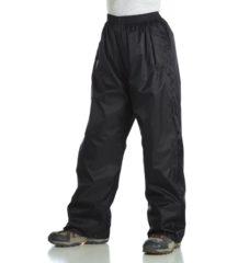 Zwarte Regatta Kids Pack-It - Regenbroek - Kinderen - 140 - Zwart