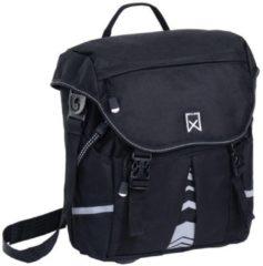 Willex Pakaftas S 1200 Enkele Fietstas - 10 l - Zwart