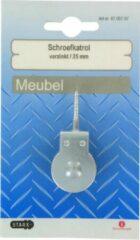 STARX schroefkatrol, verzinkt, 4 stuks Ø 25 mm geschikt voor koord