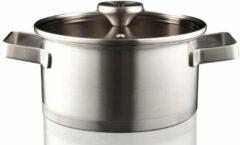 Zilveren Herman Den Blijker Rvs Kookpan Met Deksel - ø20 Cm