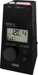 Korg KDM-3 30 - 252bpm Zwart Digitale metronoom
