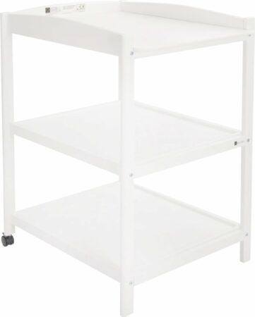 Afbeelding van Grijze QUAX Basic Baby QUAX Luiertafel - verzorgingstafel Basic WHITE