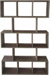 VDD Boekenkast - open vakkenkast - roomdivider - bruin grijskleurig
