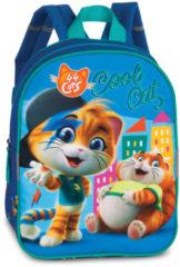 Fabrizio Kinderrugzak 44 Cats Blauw