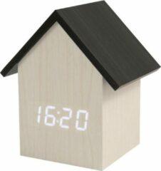Witte Fisura - Wekker - Alarmklok White Clock House