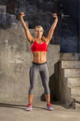 Zwarte Iron Gym Verstelbare Curlbar Set Curl Bar Curlstang - Halter