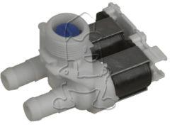 Bauknecht, Whirlpool Magnetventil 2-fach 90° 14,0mmØ (gewinkelt) für Waschmaschinen 481227128558