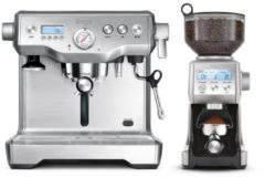 Sage The Dynamic Duo Espressomachine, RVS + The Smart Grinder Pro