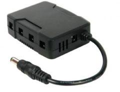 Zwarte Velleman Dc-Dc Converter Voor 4-Kanaals Dvr'S