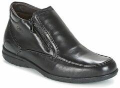 Zwarte Boots en enkellaarsjes Luca 87830 by Fluchos